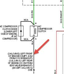 2004 chevrolet impala ac compressor wiring harness wires broke
