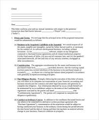 11 letter of intent templates u2013 free sample example format