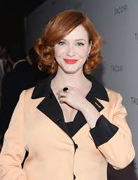 more pics of christina hendricks short curls 7 of 8 short