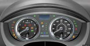 lexus rx 350 warning lights indicators and warning lights instrument cluster when driving