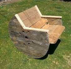 Cable Reel Chair Best 25 Wood Spool Furniture Ideas On Pinterest Cable Spool