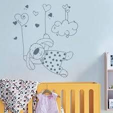 horloge chambre bébé horloge chambre bebe stickers chambre b decoratifs enfant citation 8