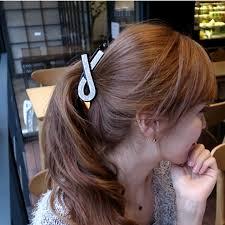 banana clip hair ribbon shape hair barrettes banana clip hair accessories