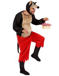 big bad wolf costume for adults costumes and fancy dress