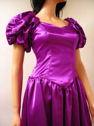 80s prom dress for sale sell vintage 80s purple satin prom dress custome made evening
