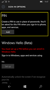 Mobile Window Screen Repair How To Enable Device Encryption On A Phone With Windows 10 Mobile