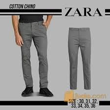 Celana Zara celana panjang zara chino black bau bau jualo