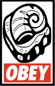 Helix Fossil Meme - obey the helix fossil by victreebong on deviantart