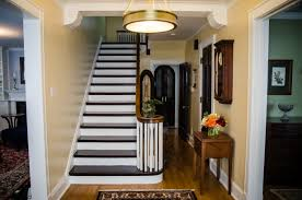 traditional dining room and foyer alexis nielsen interiors