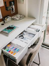 Organized Desks Margaret S Office Nook How To Keep An Organized Desk The