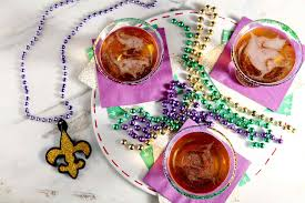 martinis cheers king cake martini for mardi gras the speckled palate