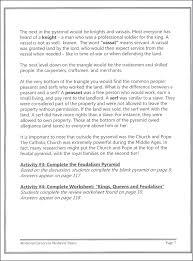all worksheets medieval times worksheets grade 4 printable