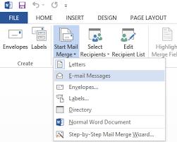 cara membuat mail merge di word 2013 how to mail merge in outlook 2013