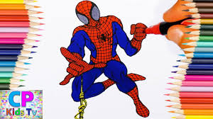 spiderman coloring pages for kids 71 spiderman coloring pages