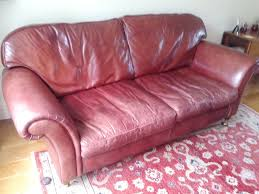 Red Leather Chesterfield Sofa by Caramel Leather Sofa Uk Centerfieldbar Com