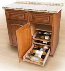 wine kitchen cabinet in cabinet wine racks install in five minutes woodworking network