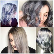 coloring hair gray trend name best hair color ideas trends in 2017 2018