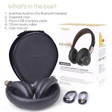 bluetooth aptx low latency headphones avantree audition pro