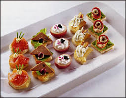 pate canapes serving hors d oeuvres and canapes