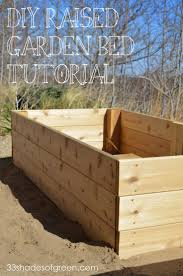 What Type Of Wood For Raised Garden - good wood for garden box home outdoor decoration