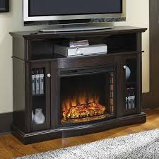 electric fireplace entertainment center tv stand storage heater