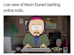 Memes Twitter - perfect memes making fun of kevin durant his twitter mistake
