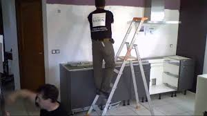 montage de cuisine montage d une cuisine en 6 conforama installation