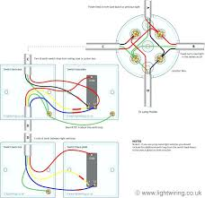 switching wire control schematic diagram 2 way lighting circuit