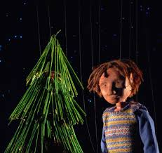 the little christmas tree at puppet theatre barge maida vale