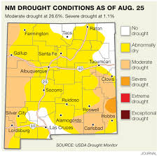 Hobbs New Mexico Map by Areas In Drought Widen Across New Mexico Albuquerque Journal