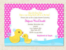 duck baby shower invitations duck baby shower invitations