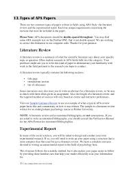 best ideas of cover page apa format literature review in service