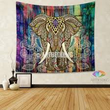 Designs Of Wall Hanging With C D Bohemian Tapestry Elephant Wall Tapestry Hippie Tapestry Wall