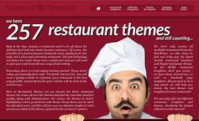101 themes announces the release of restaurant themes 101 the