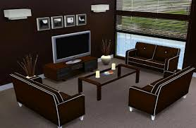 Home Design For The Sims 3 Simple Living Room Ideas Sims 3 The Pinterest Mods And Games O In