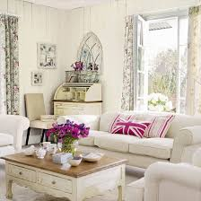 vintage livingroom vintage country for a vintage look use faded floral fabrics