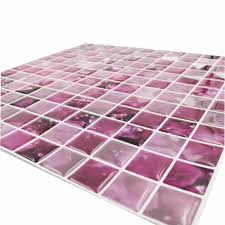 aliexpress com buy cocotik peel and stick tile purple 3d kitchen