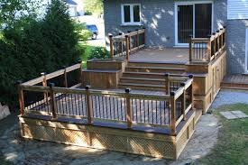 Deck Patio Design Pictures About Two Level Deck On Pinterest Decks Patio Decks And Deck