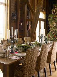 rustic christmas décor traditional home