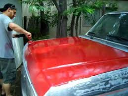 a to z 50 rustoleum regal red paint job day6 truck f150 1987