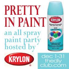 Krylon Transparent Spray Paint - rustic maple a bit of krylon blue ocean breeze
