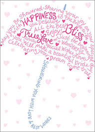 bridal cards type umbrella a press bridal shower card by avanti press