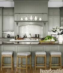Gray Kitchen Cabinets Benjamin Moore by Benjamin Moore Silver Lake Gray Green For Kitchen Cabinets