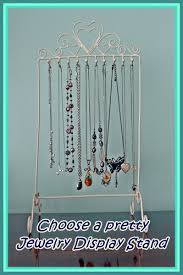 necklace storage display images Choosing a jewelry display necklace tree earring holder or jpg