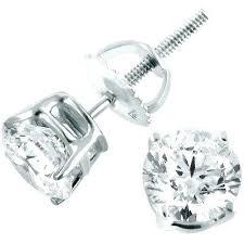 warren stud earrings white gold and diamond earrings white gold diamond earrings warren
