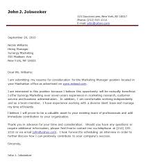 effective cover letterletter of interest formats sample letter of