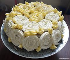 simple chocolate cake with white roses frosting simple birthday