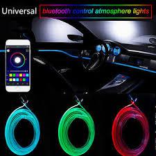 Neon Lights In Cars Interior Rgb Light Led Car Interior Neon Strip Light Sound Active Bluetooth