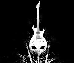 skull guitar by romaka on deviantart