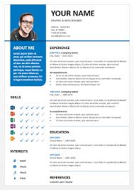 powerpoint resume template powerpoint resume templates bayview clean powerpoint resume template